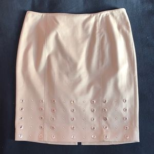 WHBM Flannel Pencil Skirt
